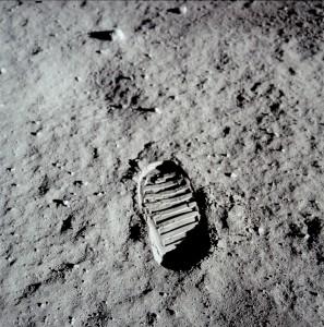 Huella Neil Armstrong en la Luna (NASA)