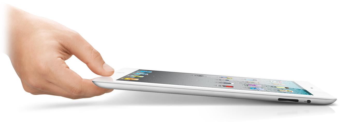 iPad2 blanco