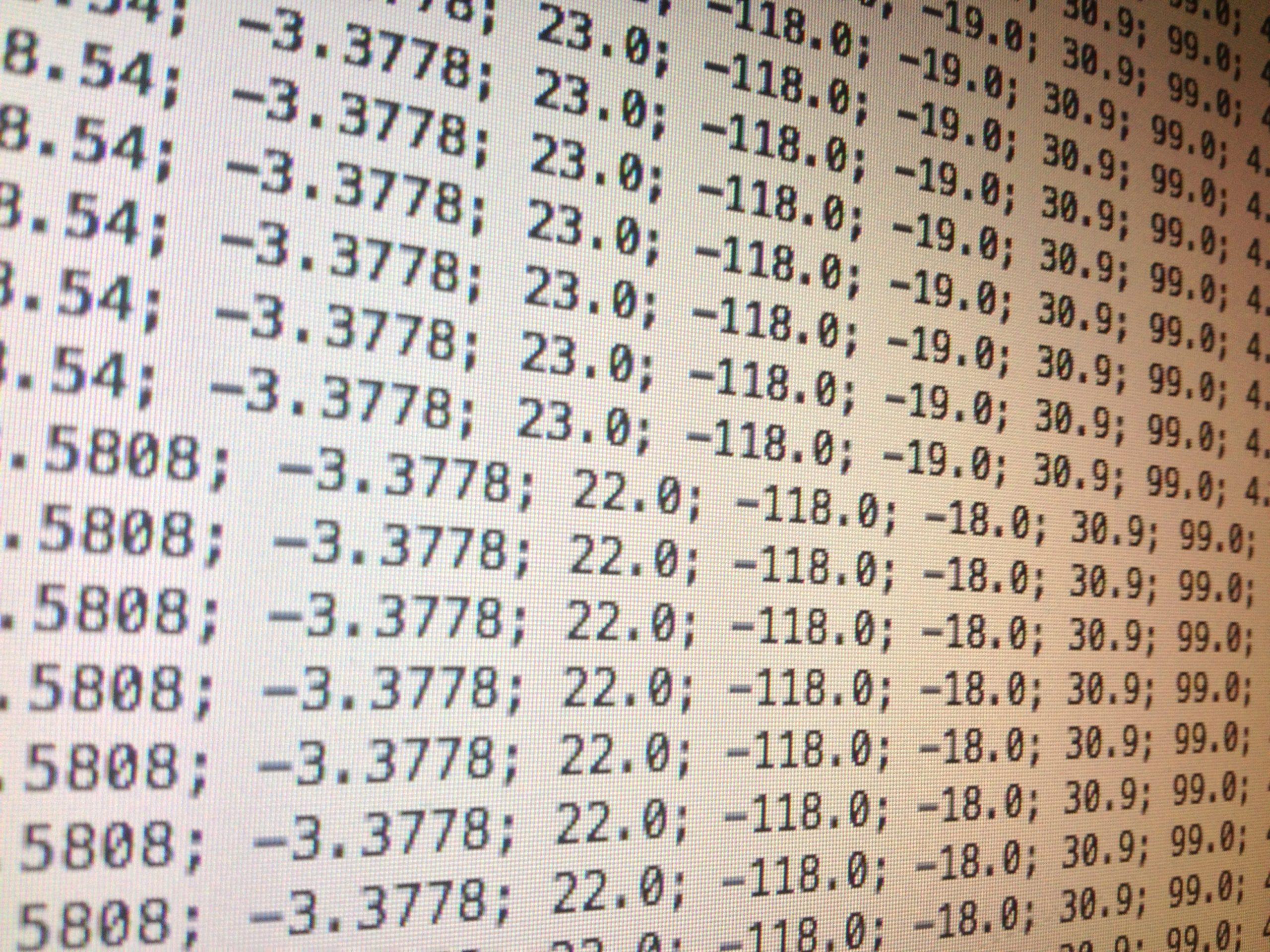 Importar los datos de un archivo CSV – Matlab